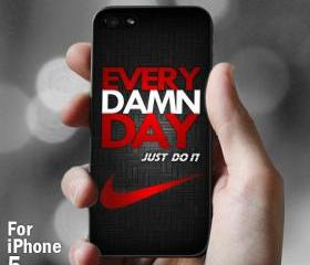 AJ 069 Evey Damn Day Black - iPhone 5 Case